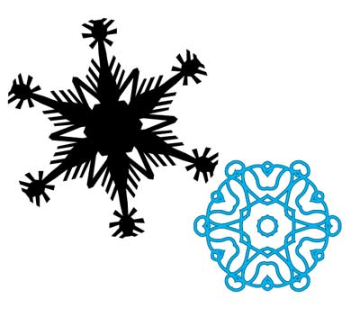snow flake tutorial